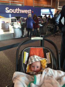 flying infant travel Providence Moms Blog