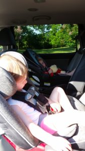 thoughts road tripping with kids alone Providence Moms Blog