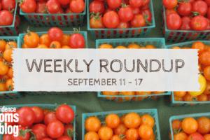 weekly roundup September 11-17 Providence Moms Blog