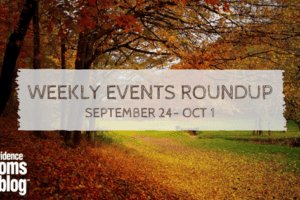Weekly round up September 24 October 1 Providence Moms Blog