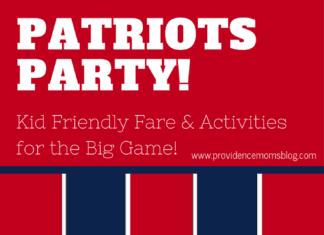 Super Bowl Patriots Party Providence Moms Blog