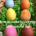 How To Make Natural Easter Egg Dye {With Printable!}