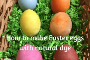 Easter eggs natural dye Providence Moms Blog