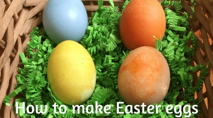 Easter eggs natural dye Providence Moms Blog