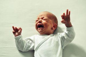 newborn baby crying Providence Moms Blog