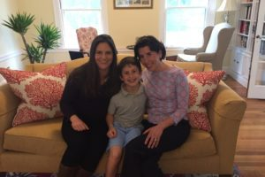Lindsey Galvao, Tommy Moffit, Governor Gina Raimondo Providence Moms Blog