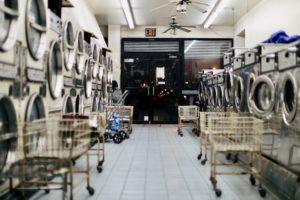 interior of laundromat Providence Moms Blog
