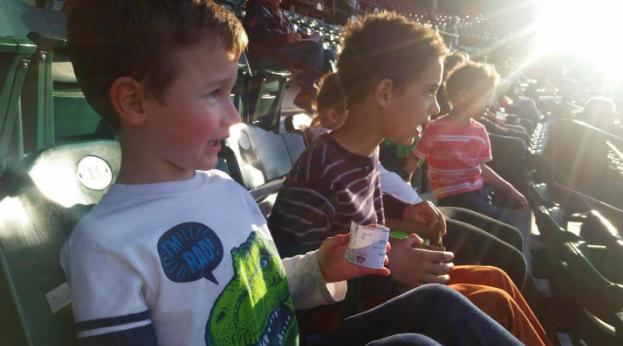 Pawtucket Red Sox baseball game Providence Moms Blog