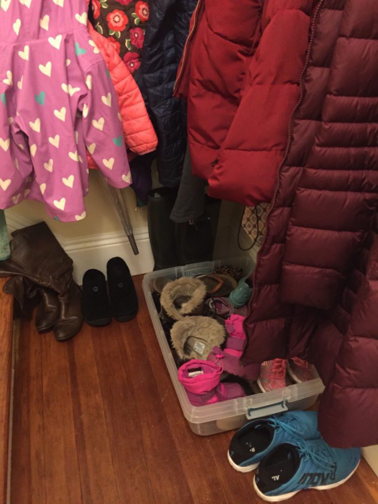 winter coats and shoes Providence Moms Blog