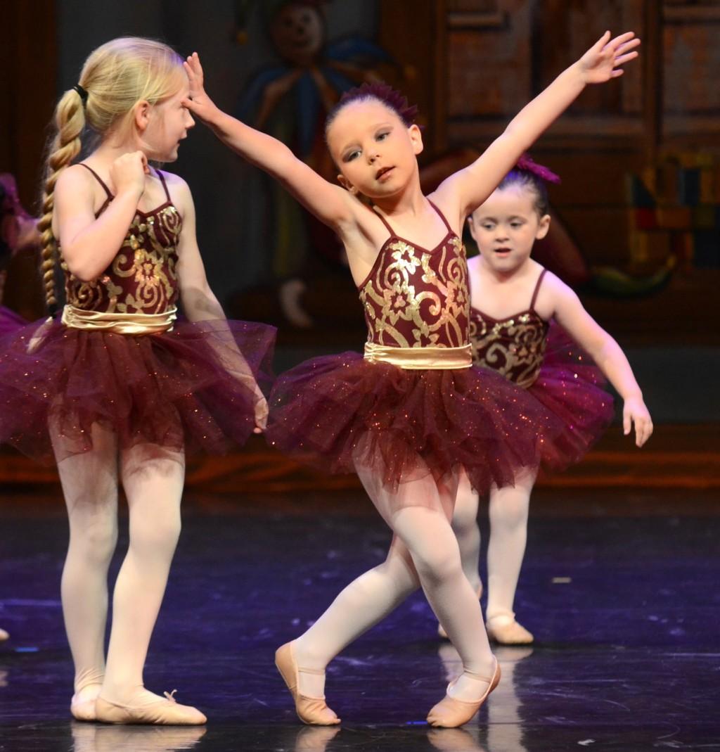 girls at ballet dance recital Providence Moms Blog