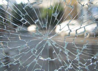 shattered glass window Providence Moms Blog