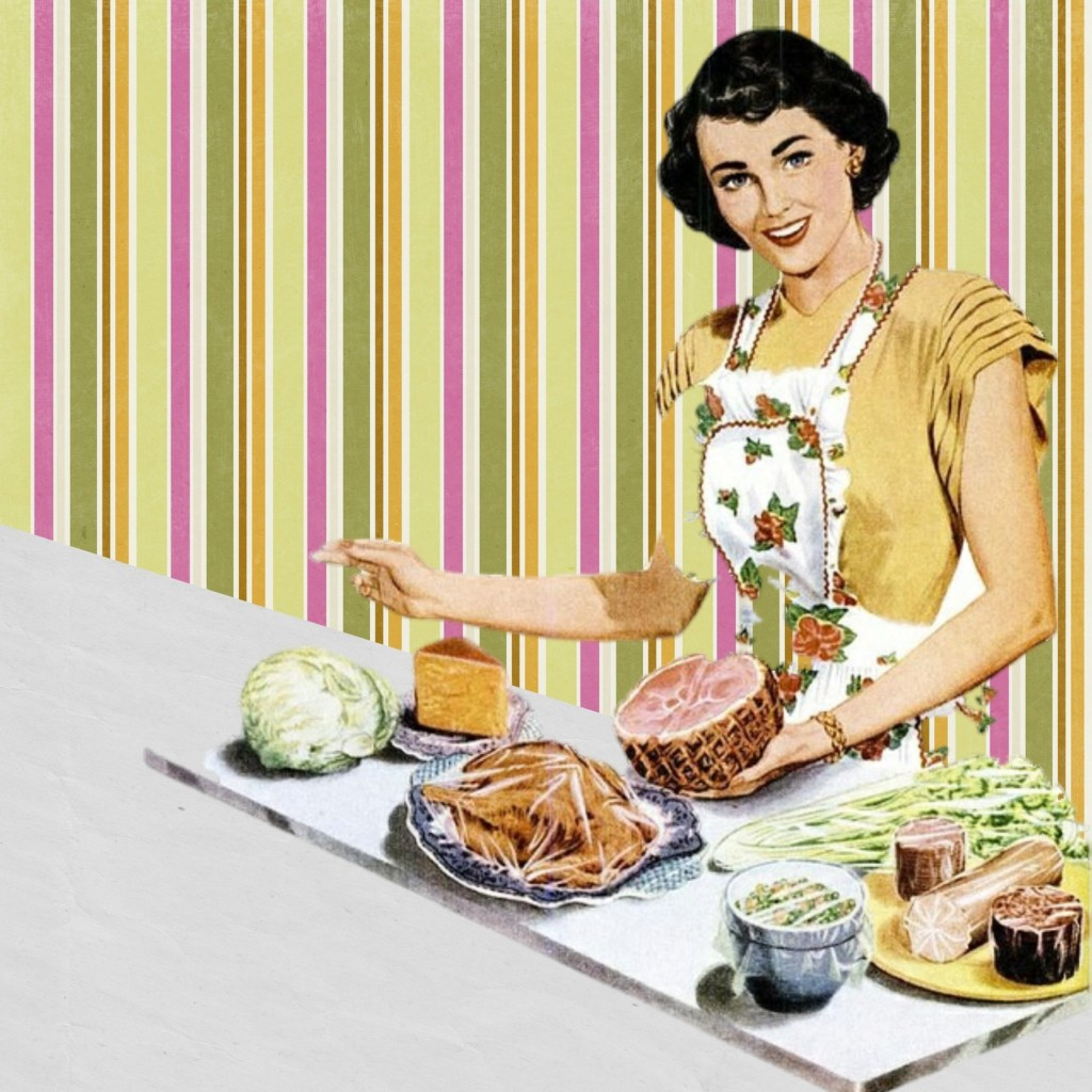 woman with a cooked dinner Providence Moms Blog