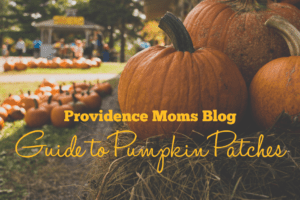 pumpkins near field Providence Moms Blog