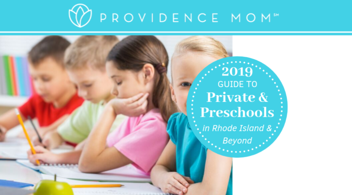 guide to private and preschools graphic