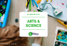 Rhode Island Indoor Play Arts and Science STEM playspace