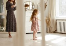 young child dancing | stages of motherhood | Providence Mom