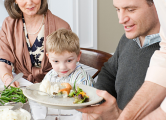 feeding issues during holidays | Providence Mom